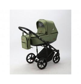 Carucior copii 3 in 1 Amelia Adamex Green AM280
