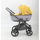 Carucior copii 3 in 1 Barcelona Adamex Yellow BR125