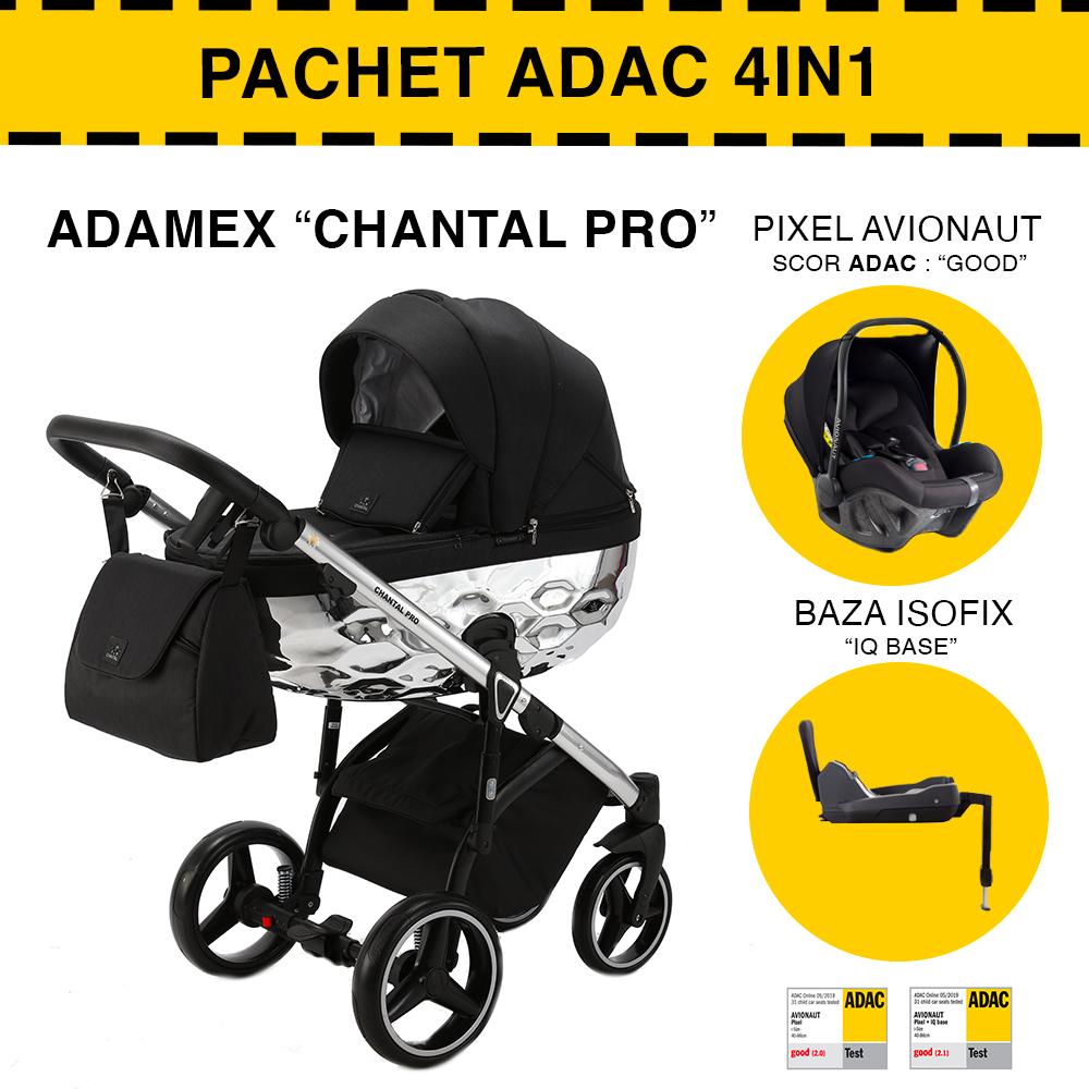CARUCIOR 4 IN 1 CHANTAL PRO ADAMEX SILVER STAR 11 PACHET ADAC