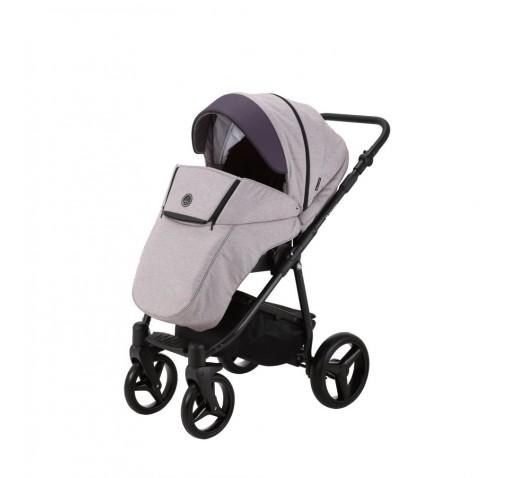Carucior copii 3 in 1 Cortina PRO Adamex Purple CP224