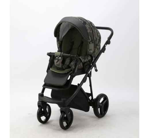 Carucior copii 3 in 1 Cortina Sport Adamex Army CS230