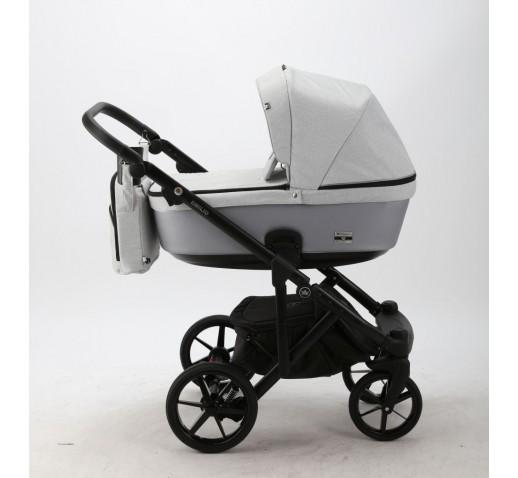 Carucior copii 3 in 1 Emilio Adamex Grey Style EM269