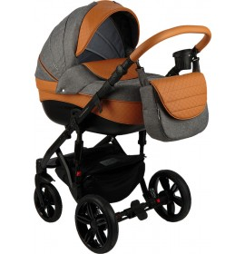Carucior copii 3in 1 Adamex Encore Cookie Grey X23