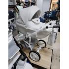 Carucior copii 3 in 1 Adamex Massimo White Deluxe