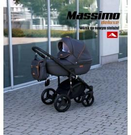 Carucior copii 3 in 1 Adamex Massimo Style Deluxe