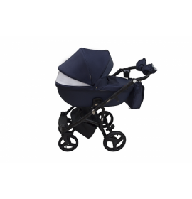 Carucior copii  3 in 1 Massimo Adamex V33 Indigo Black Edition