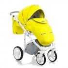 Carucior copii 3 in 1 Adamex Massimo Lime Deluxe