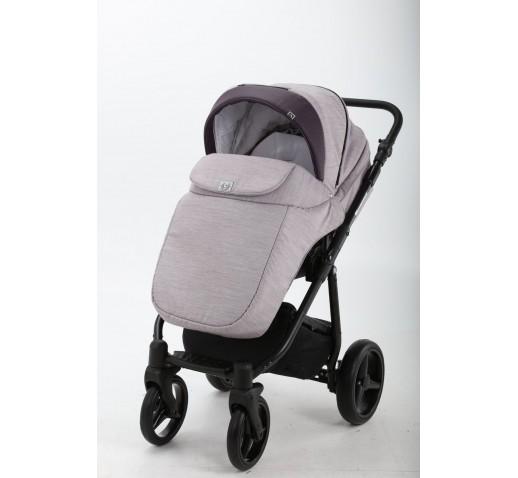 Carucior copii 3 in 1 Reggio Adamex Soft Purple Y59