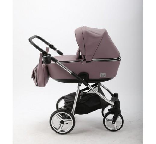 Carucior copii 3 in 1 Reggio Adamex Special Edition Purple Rain Y239