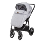 Carucior copii 3 in 1 Reggio Adamex Black Grey Y58
