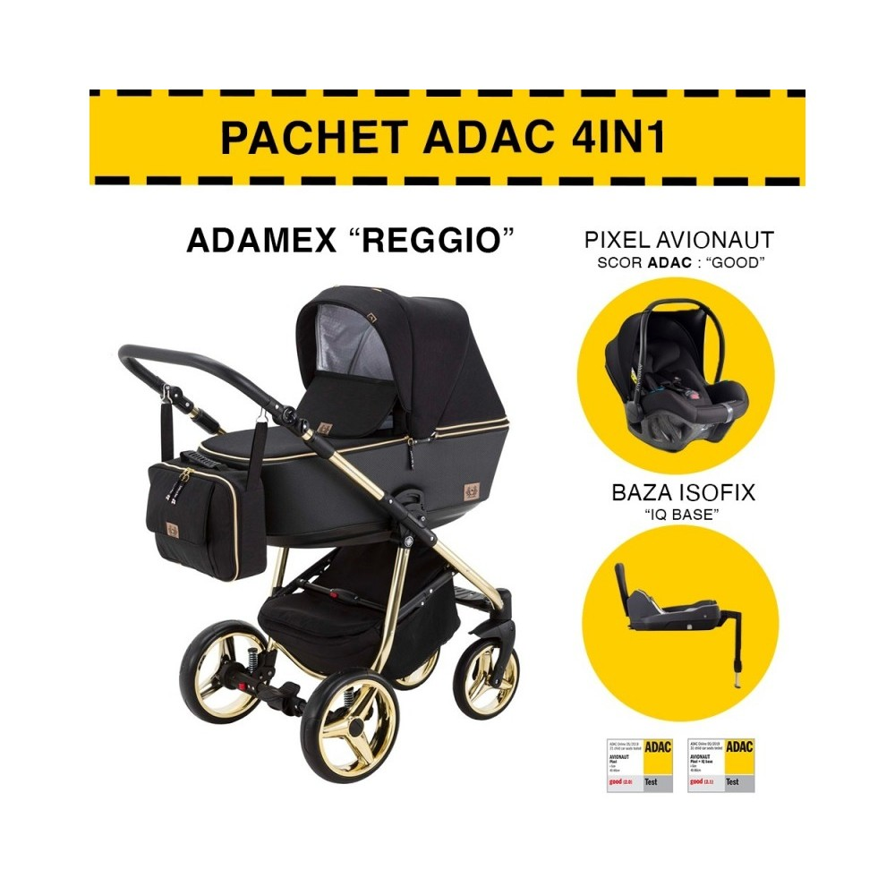 CARUCIOR 4 IN 1 REGGIO ADAMEX BLACK GOLD Y85 PACHET ADAC