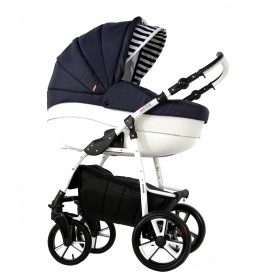 Carucior copii 3 in 1 Kayon Blue Navy