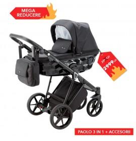CARUCIOR 3 IN 1 PAOLO ADAMEX CLASIC BLACK TK13