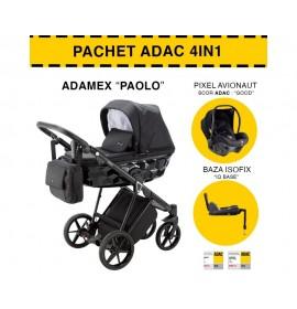 CARUCIOR 4 IN 1 PAOLO ADAMEX CLASIC BLACK TK13 PACHET ADAC