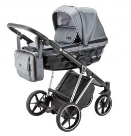 Carucior 3 in 1 Paolo Adamex Special Edition Grey Silver SM525