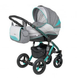 Carucior copii 3 in 1 Aspena Grand Prix Black Mint