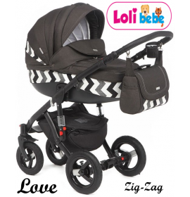 Carucior copii 3 in 1 LoliBebe Love Zig Zag