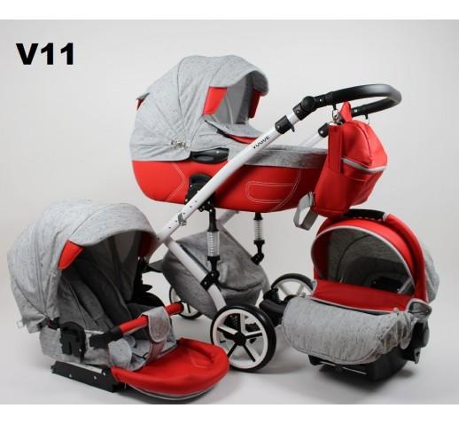 Carucior copii 3 in 1 Vogue Loli Bebe V11