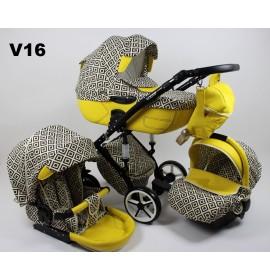 Carucior copii 3 in 1 Vogue Loli Bebe V16