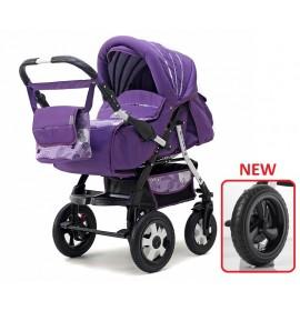 Carucior copii transformabil 3 in 1 Diana purple