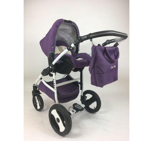 Carucior 3 in 1 Zippy Lux Baby Seka Chilli