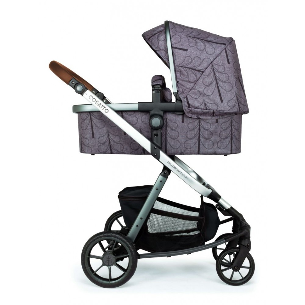 Carucior copii 3 in 1 Cosatto Giggle Quad Fika Forest