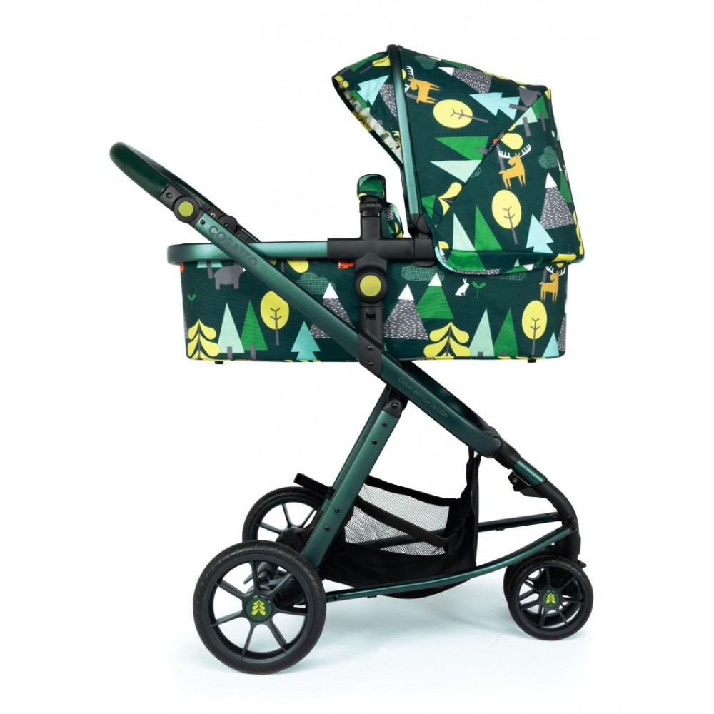 Carucior copii 3 in 1 Cosatto Giggle Quad Into The Wild