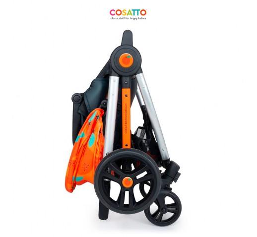 Carucior 3 in 1 Cosatto Wowee Go Orange Pachet Extra