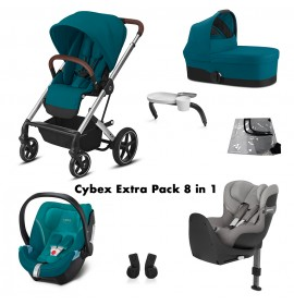 Cybex Balios S Lux Extra Pachet 8 in 1 River Blue