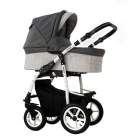 Carucior copii 3 in 1 Danco Grey Len