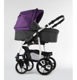 Carucior copii 3 in 1 Danco Purple Grey