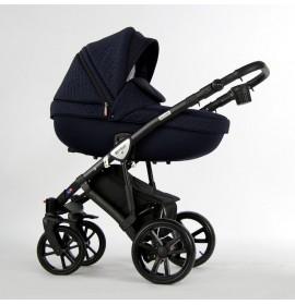 Carucior copii 3 in 1 Milano Dark Blue