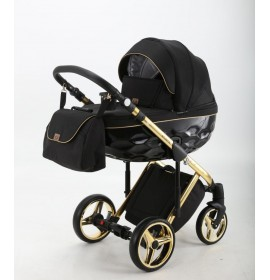 Carucior copii 3 in 1 Chantal Adamex Black Gold Special Edition C1