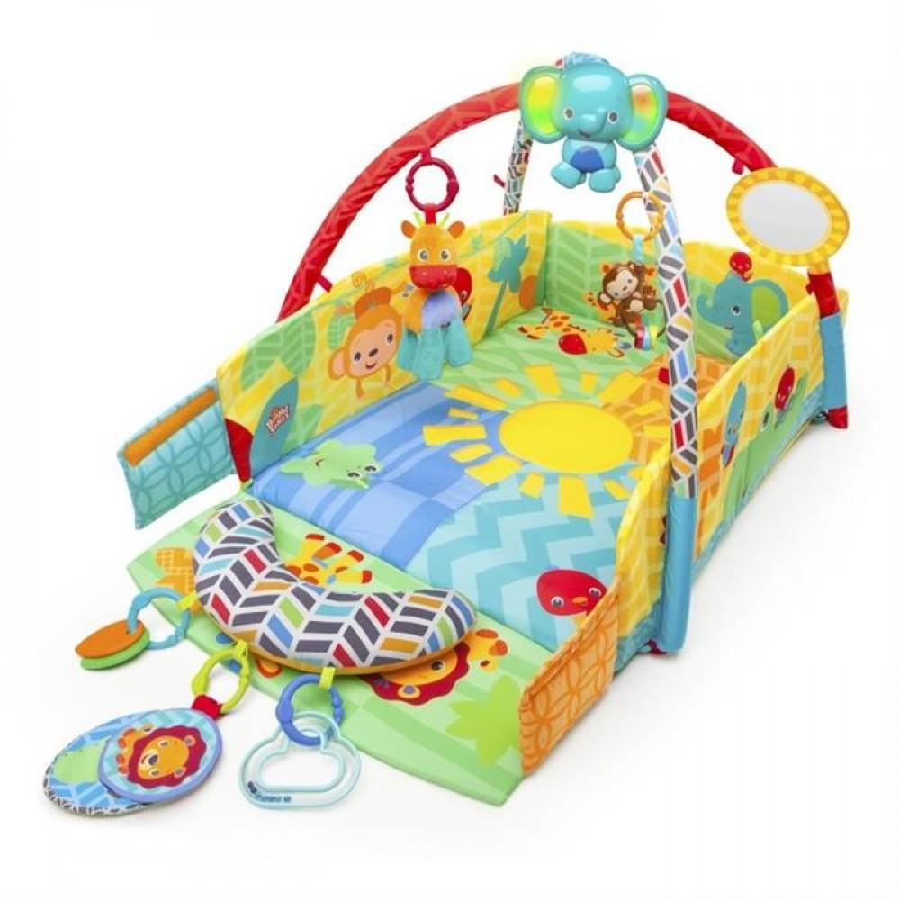 52157 Salteluta de joaca 5 in 1 Sunny Safari Baby's Play Place™