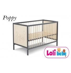 Patut pentru copii Poppy cu Saltea COCOS 10 cm