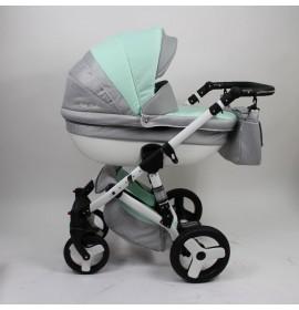 Carucior 3 in 1 Torrino Baby Seka  Verde